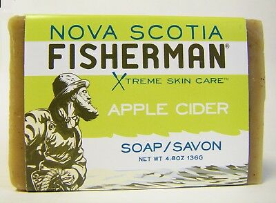 Organic Sea Kelp - Nova Scotia Fisherman Organic Bar Soaps Apple Cider Sea Kelp Shea Butter 3 Pack