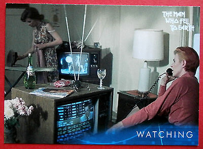 DAVID BOWIE - The Man Who Fell To Earth - Card #20 - Watching - Unstoppable