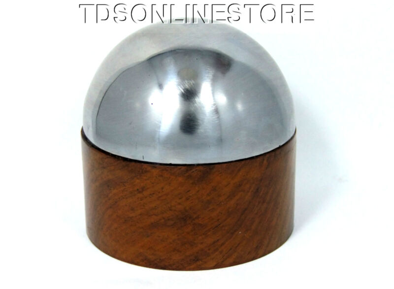 High Domed Steel And Wood Bench Anvil For Forming And Shaping