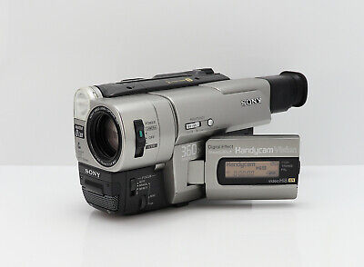 SONY HANDYCAM CCD-TRV66E CAMCORDER HI-8 XR VIDEO-8 ANALOGUE VIDEO CAMERA 8MM