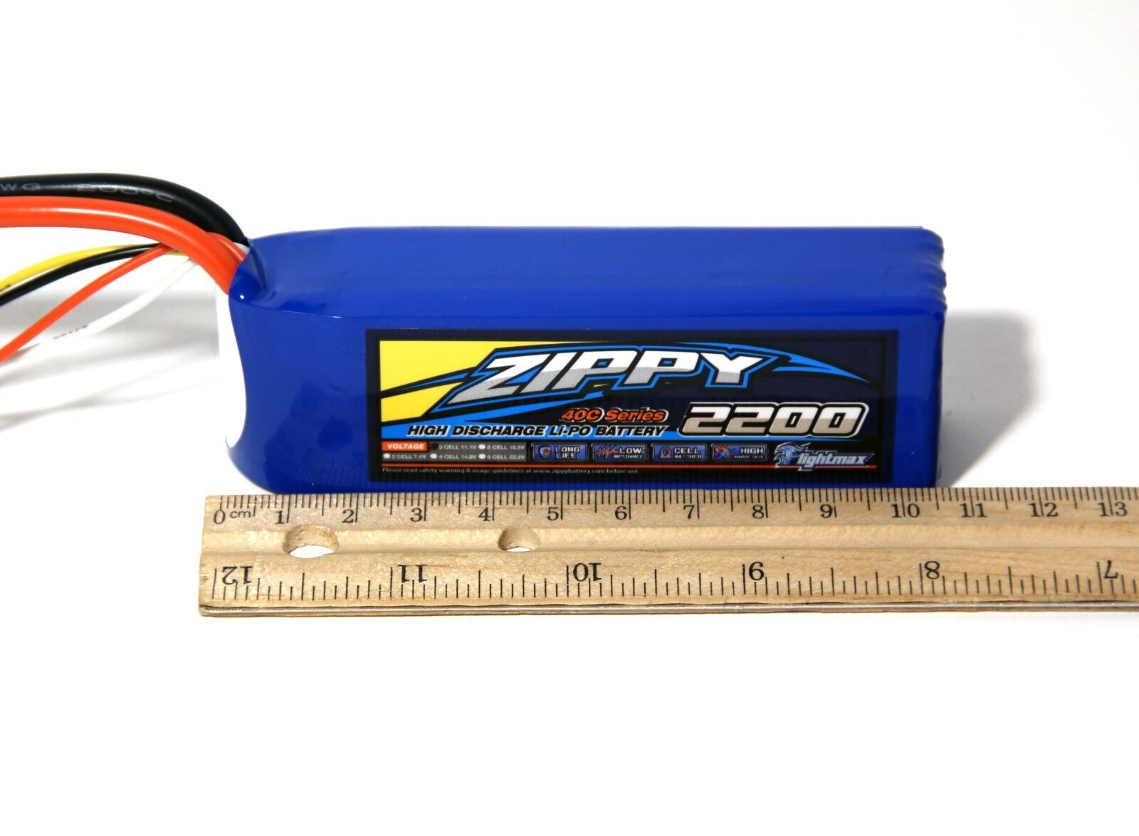 Zippy Flightmax 2200mAh 3S 11.V 40C Lipo Battery TRAXXAS XT6