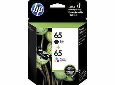 HP Genuine 65 Black + Color Set of 2 Ink Cartridge 2018-2019