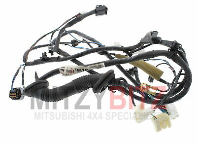 TAILGATE BACK DOOR WIRING HARNESS LOOM PAJERO SHOGUN V76W MK3 2.8T 00-06