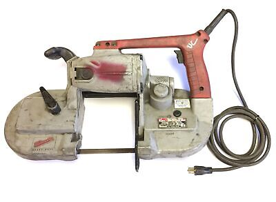 Milwaukee 6230 Corded Heavy Duty Band Saw Variable Speed 0-350 Fpm 120vac 6a