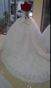 Blows wedding dress