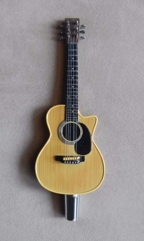 Custom Acoustic Guitar Sports Bar Beer Tap Music Enthusiast Keg Handle  Dive Bar