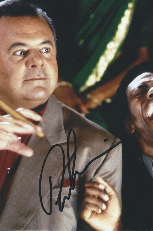 Paul Sorvino signed/auto Goodfellas Law and Order Movie Actor Rare COA LOOK!!