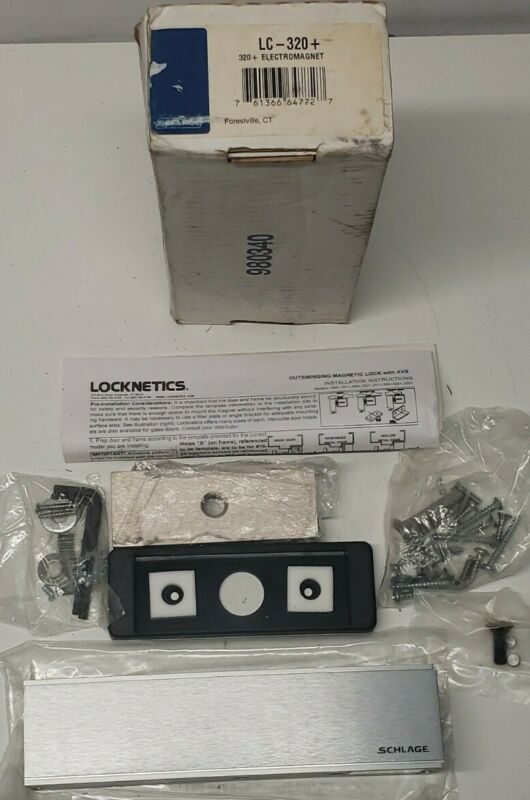 Schlage Locknetics LC-320+  Electromagnetic Lock Door Hardware