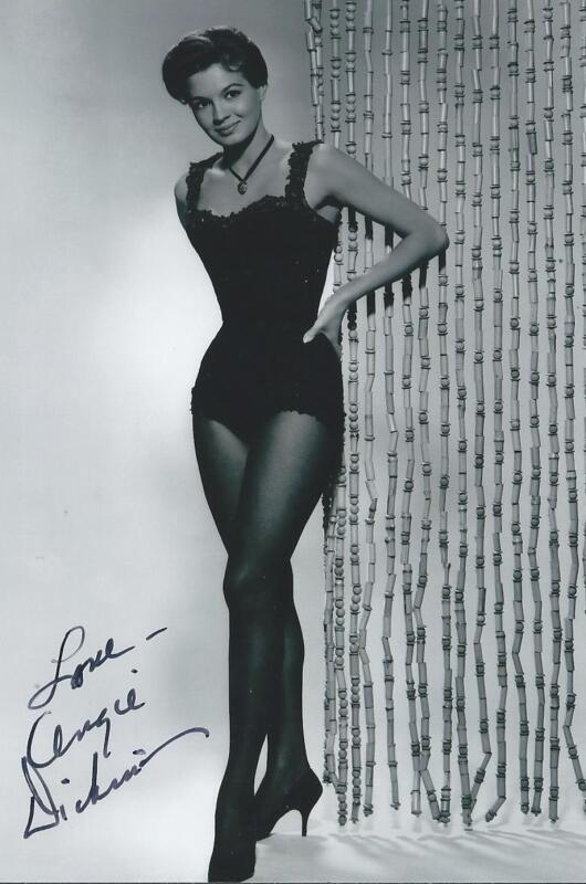 Angie Dickinson signed autograph Movie Star Dress to Kill  RARE COA LOOK!!