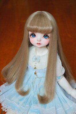Bjd Doll Wig 1//3 8-9 SD Pullip AOD DZ LUTS Dollfie blonde Mix Toy Head Hair