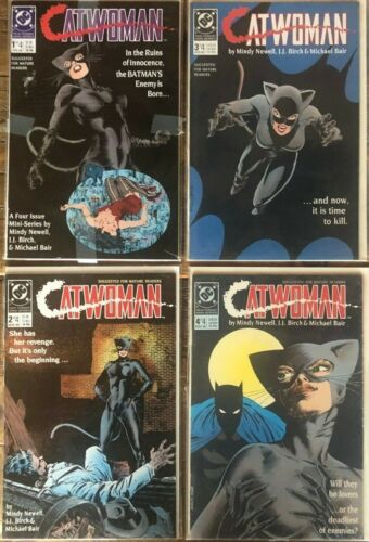 CATWOMAN #1 2 3 4 Complete Set 1-4 1989