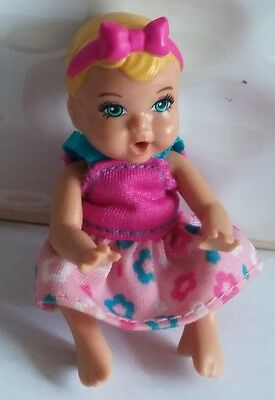 """Mattel Barbie Baby Sister Crissy Doll - 3"""" Tall Poseable Drinks & Wets"""