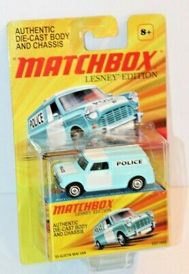 NIP Matchbox Lesney Edition '65 Austin Mini Police Van
