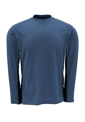 Simms WADERWICK Core Crew Neck ~ Navy NEW ~ Closeout Size Medium