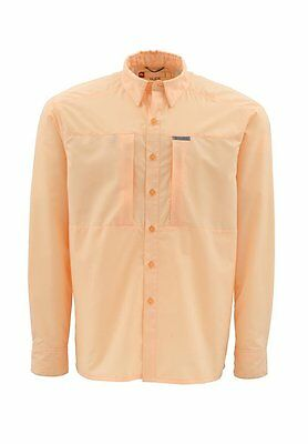 Simms ULTRALIGHT Long Sleeve Shirt ~ Apricot NEW ~ Closeout Size Small