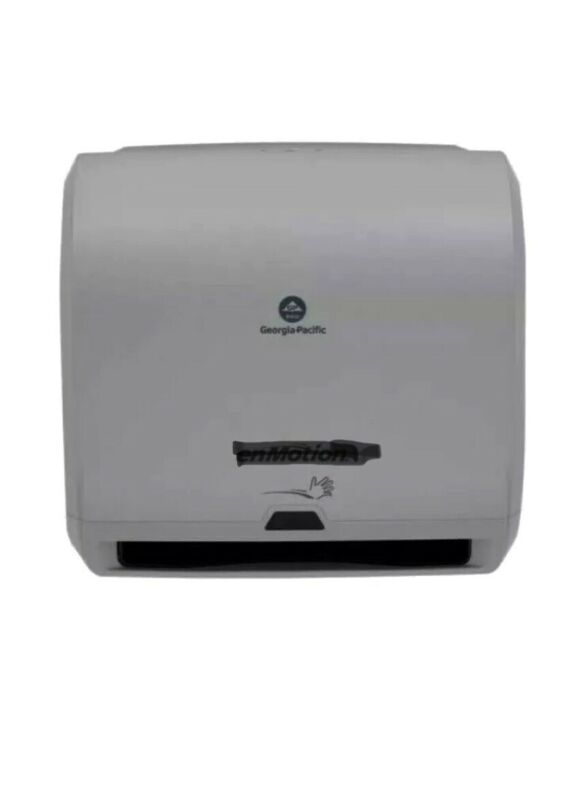 "10"" Touchless Automatic Paper Towel Dispenser Battery OperateGray NIB"