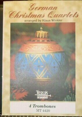 Trombone Quartet: German Christmas Quartet arr Klaus Winkler new unplayed ()