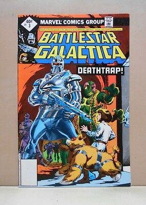 BATTLESTAR GALACTICA Vol.1 #3 1979-81 Marvel 6.0 FN Uncertified ERNIE COLON