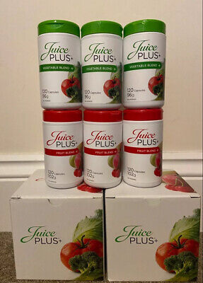 Juice Plus Capsules 3 FRUIT 3 VEGETABLE NEW AND SEALED (120 Each...