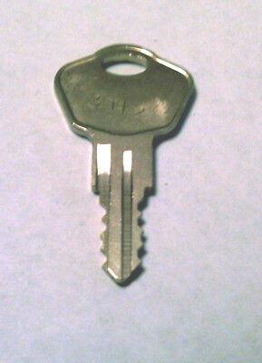 2 Sentry Safe Keys Precut To Key Code 3h2