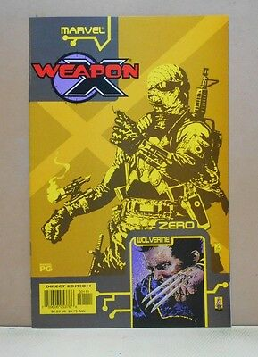 WEAPON X: THE DRAFT - AGENT ZERO 10/02 Marvel 9.0 VF/NM Uncertified