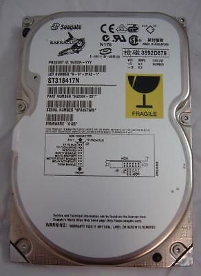 18.4 Gb Festplatte (Seagate - ST318417N - 18.4GB SCSI 50pin 7200rpm 3.5