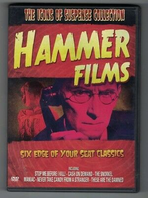 ICONS OF SUSPENSE:HAMMER FILMS-6 50'S-60'S HAMMER HORROR FILMS-OOP 3 DVD SET](Filme Halloween 6)