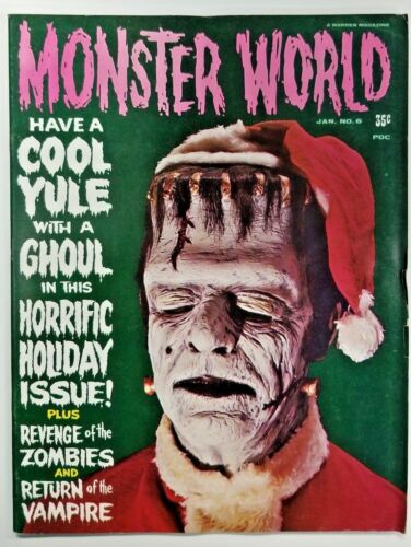 Monster World #6 Magazine Warren Publishing 1966