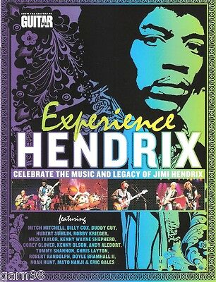 Experience JIMI HENDRIX Concert Program 2007 Hubert Sumlin Buddy Guy