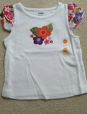 Gymboree girls T shirt 18-24 mnths bnwt