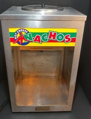 American Permanent Ware Vintage Nacho Chip Display Warmer Advertisement Works