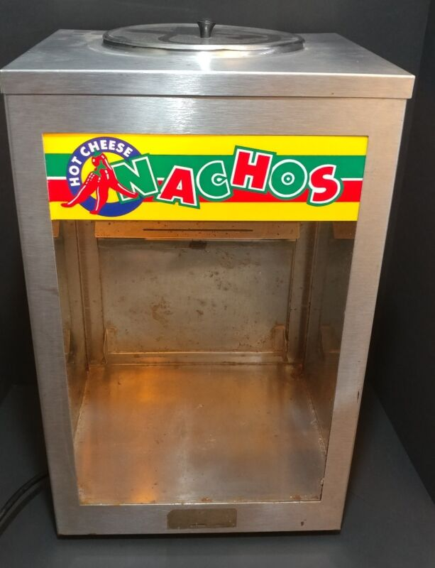 American Permanent Ware Vintage Nacho Chip Display Warmer Advertisement WORKS!