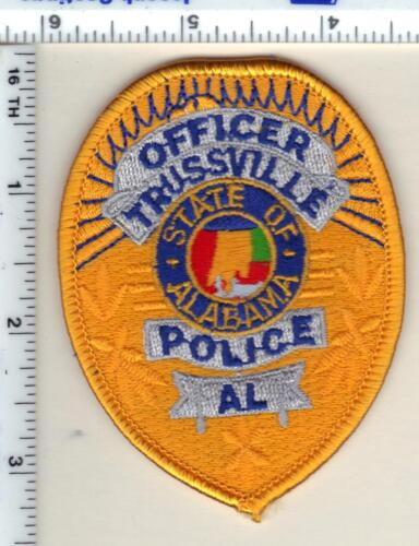 Trussville Police (Alabama) Shirt/Jacket Patch - New from 1989