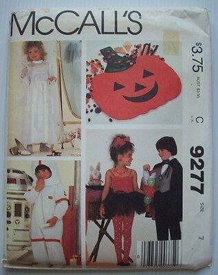 Bride Astronaut Magician w/ Assistant costume pattern 9277 size 7 child unused - Magician's Assistant Costume