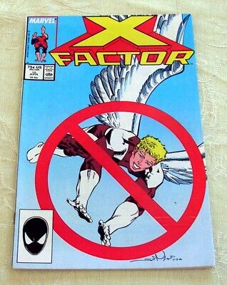 X-Factor Comic #15, Apr 1987 (VF to NM) Marvel, Direct Distribution Variant