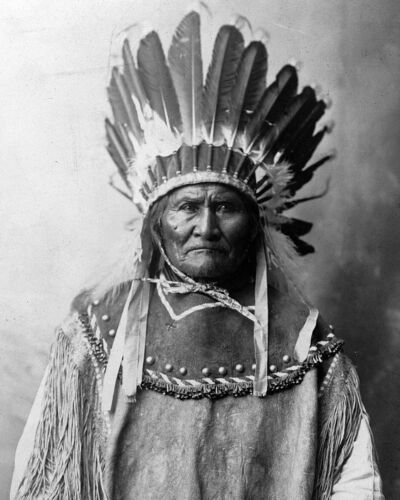 Geronimo 8X10 Photo Picture Image Native American leader Apache Chief tribe #15