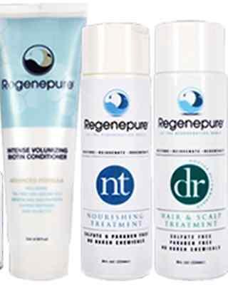 Used, Regenepure DR, NT & Biotin Conditioner Full Kit, Treatment & Nourishing & Grows for sale  Los Angeles