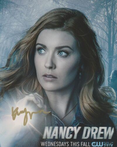 Kennedy McMann Nancy Drew Autographed Signed 8x10 Photo COA 2019-49