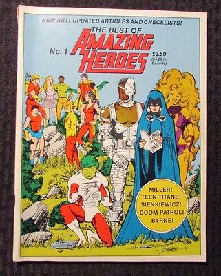 1982 The Best of AMAZING HEROES #1 FN+ George Perez - Frank