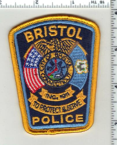 Bristol Police (Connecticut) 3rd Issue Cap/Hat Patch