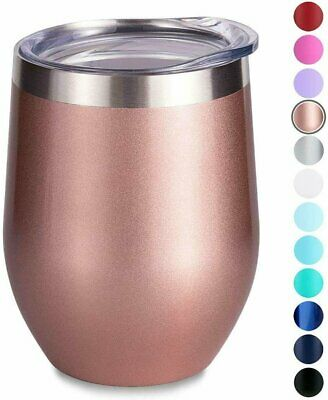 Cupture 12oz Stainless Steel Wine Glasses Vacuum Insulated T
