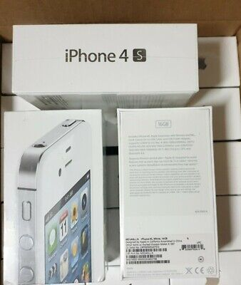 Brsnd new factory sealed & unlocked Apple iPhone 4s 16GB White RARE never opened
