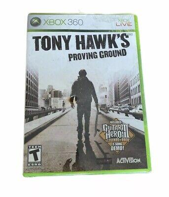 Brand New Tony Hawk's Proving Ground | Microsoft Xbox 360 | 2007 | Sealed