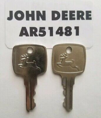 2 John Deere Original Equipment Keys Ar51481 2 Keys Fast Free Shipping