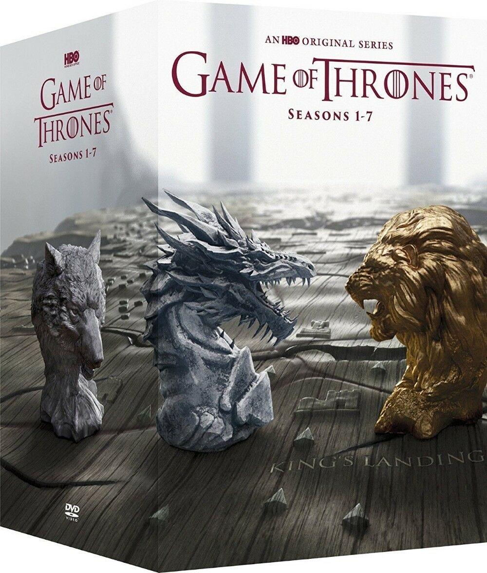 Game of Thrones Complete Series Season 1-7 Boxset (DVD 34-Disc) 1 2 3 4 5 6 7