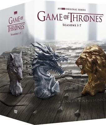 Game Of Thrones  The Complete 1 7 Seasons 1 2 3 4 5 6 7 Dvd  2017  34 Dis Boxset