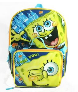 ... -Squarepants-Boys-Large-School-Backpack-with-Detachable-Lunch-Box