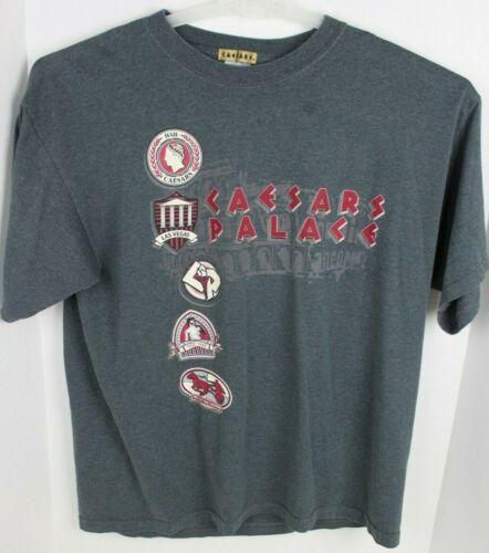 Caesars Palace 90s Short Sleeve Las Vegas T-Shirt Vintage Size XL Caesar