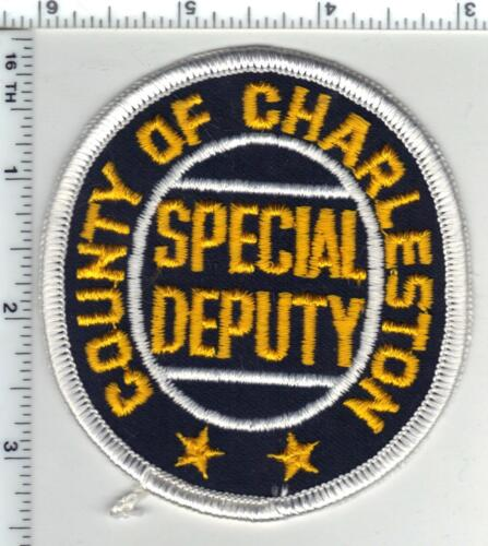 County of Charleston Special Deputy (South Carolina) 1st Issue Shoulder Patch