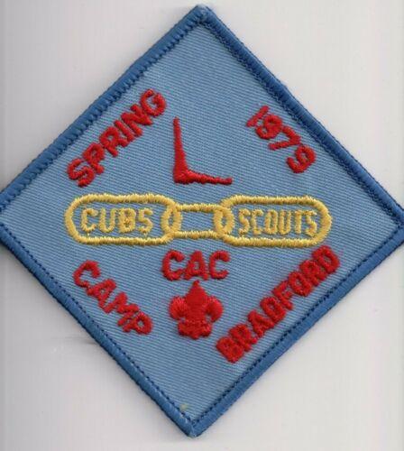 Crossroads of America Council, Indiana Camp Bradford 1979 Cub Camp